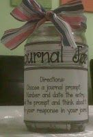 My fab. Journal Jar!!!!!  Check out my blog for more details & a great GIVEAWAY! www.TeachersTreasure.blogspot.com