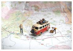 いろんな国々を旅するのも楽しい。 キャンピングカーに荷物を積んで、 ひたすら、国から国へと旅していく。