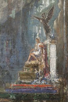 The Triumph of Alexander the Great' by Gustave Moreau