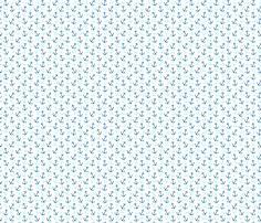 Anchors Away Nautical fabric by littlerhodydesign on Spoonflower - custom fabric