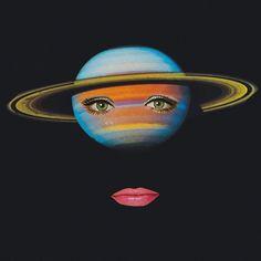 Saturn Face / Mariano Peccinetti / Collage al Infinito / Embodied <3