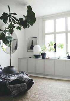 pinterest//@shannonreedpins My Living Room, Home And Living, Living Room Decor, Living Spaces, Wall Cabinets Living Room, Room Inspiration, Interior Inspiration, Design Scandinavian, Scandinavian Apartment