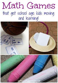 Kinesthetic Math Games for Big Kids!