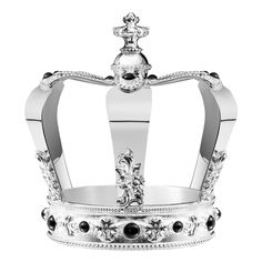 Silver Kingdom large crown by Christofle; $10,000. christofle.com  Luxury Gifts for the Holidays | Architectural Digest