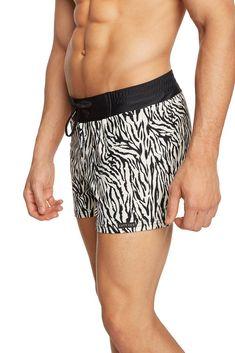1a601e6a86 Little Zebra Ultra-Soft Retro Lycra Swimwear #swimshorts #shorts  #menswimwear Mens Designer