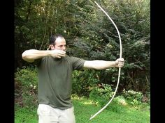 Making a Primitive Bow, Part 1. - YouTube