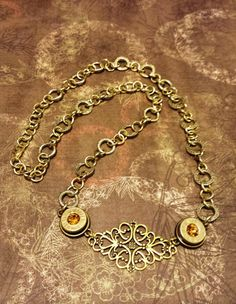 Winchester Western WW Super 41 Rem Mag bullet necklace with sparkling yellow topaz swarovski crystal gems. Great November birthday gift! Only at AdornmentsByValerie.etsy.com    Check out this item in my Etsy shop https://www.etsy.com/listing/246988819/winchester-western-necklace-necklaces-ww