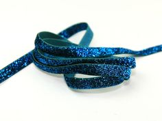 Luxurious Glitter Tinsel Textured Christmas Metallic Ribbon 5mt - Choice of Cols Preview
