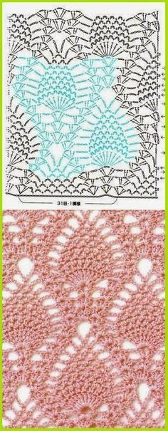 Patterns and motifs: Album crocheted pattern 4
