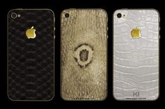 MJ iPhone Limited Edition Exotic Skin Cases