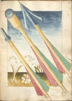 Bellifortis VerfasserKyeser, Conradus  ErschienenElsaß, [um 1460] Ms. germ. qu. 15  Folio 97r