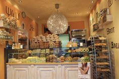 An artesian bread store in Padova Italy