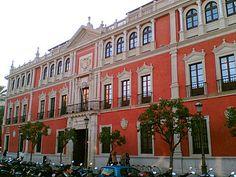 Imagen actual de la antigua Audiencia Provincial de Sevilla #Sevilla #Seville #sevillaytu @sevillaytu