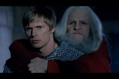 Are you kicking me? Arthur is just like WTF while Merlin is so matter o fact