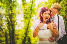 Offbeat DIY Vancouver Wedding by Love Out Loud Studios » KnotsVilla