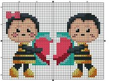 Cross Stitch Flowers, Cross Stitch Patterns, Canvas Patterns, Plastic Canvas, Cartoon, Fictional Characters, Crocheted Flowers, Layette, Diapers