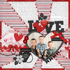 These little boys are such special little boys!!  Love them to pieces!! I used: Queen Wild Scraps: Queen of Hearts vol 3 http://store.gingerscraps.net/Queen-...ts-Vol.-3.html Wimpy Chompers: Love Bandit: http://store.gingerscraps.net/Love-Bandit.html