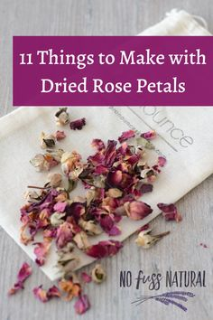 Not sure what to do with those rose petals that are falling to the floor? Tired of the worn out craft ideas turning rose Rose Petals Craft, Fresh Rose Petals, Rose Petal Uses, Uses For Rose Petals, Drying Roses, Hostess Gifts, Holiday Gifts, Mountain Rose Herbs, Baby Shower Prizes