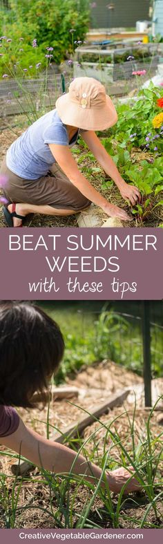 You shouldn't be spending more than a few minutes a week weeding your summer garden. Here's how.
