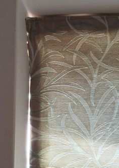 Cut the blind square - Sew-Helpful Blog - How we don't make our blinds