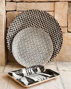 Terrafirma Ceramics Dinnerware - Black