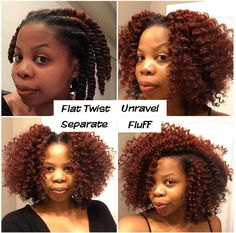 Try This Perfect Flat Twist Out Tutorial for defined curls