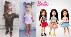 Someone please find out who is this adorable and beautiful mini Barbie?! She is even more fashionable than most grown-ups that's for sure! Take a look at how she pulls of these fashion apparels like a pro! What do you think of this? Now I feel the urge of having a daughter of my own! …