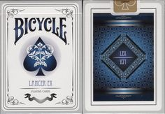 Lancer EX Bicycle Playing Cards