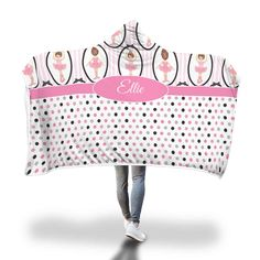 Pink Ballet with Polkadots Hooded Blanket – Designing on Wine Hooded Blanket, Little Ones, Blankets, Hoods, Polka Dots, Ballet Skirt, Cozy, Wine, Design
