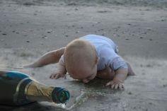 """No saben cuando dejar de beber. """"26 razones por las que los niños pequeños son como pequeños adultos ebrios"""""""