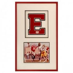 Frame your Varsity Letter with a memorable action photo!
