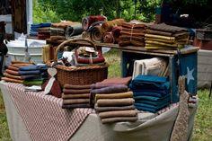 Stacks of wonderful wool..........
