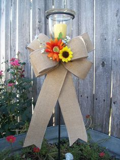 Hey, I found this really awesome Etsy listing at https://www.etsy.com/listing/109938779/sunflower-wedding-sunflower-pew-bows