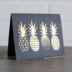 Pop Art Pineapple - Concord & 9th