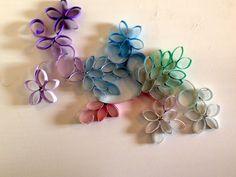 DIY: flower wall decor