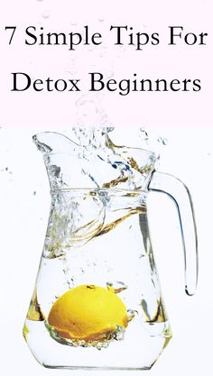 There are many detox pitfalls that newbies and even experienced detoxers fall into. That's why I've put together a list of simple tips for detox beginners. Detox To Lose Weight, Vegan Detox, Detox Program, Restorative Yoga, Living A Healthy Life, Detox Tea, Health And Wellbeing, Healthy Smoothies, Health And Beauty