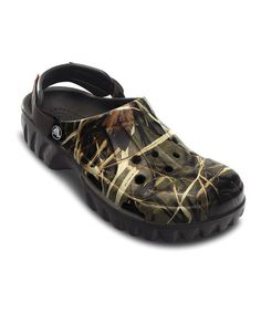 f44570492b78e Chocolate Off Road Realtree® Clog - Men by Crocs on  zulily Camo Shoes