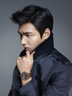 Korean actor Lee Min-ho appeared in a pictorial for the watchmaker Romanson, released by its PR agency OZ Creative on Wednesday. Korean Star, Korean Men, So Ji Sub, Asian Actors, Korean Actors, Korean Dramas, Korean Celebrities, Kdrama, Lee Min Ho Photos