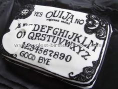 This cake is a tribute to supernatural. #supernatural #cakes #ouija