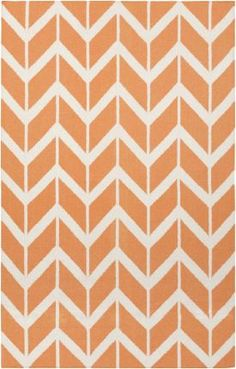 Surya Jill Rosenwald Fallon 442 Papaya Rug | Contemporary Rugs