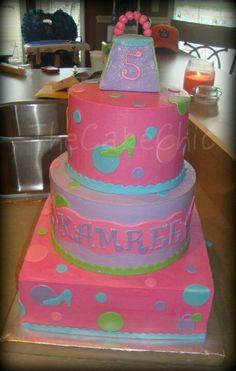 Girly girls cake