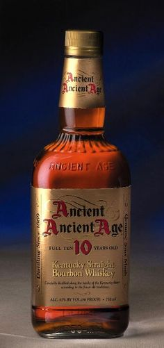 Ancient Ancient Age 10 yr Kentucky Straight Bourbon Whiskey 86 Proof Appox $20