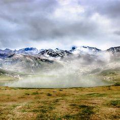 Lago Ercina in National park Picos de Europa