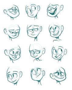 Drawing Cartoon Characters Animation Sketches Best Ideas, Drawing C.You can find Animation and more on our . Cartoon Faces Expressions, Drawing Face Expressions, Drawing Cartoon Characters, Character Drawing, Drawing Faces, Drawing Cartoon People, Cartoon Expression, Drawing Cartoons, Animation Character