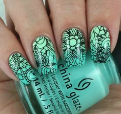 Uberchic Beauty Collection Eleven Stamping Plates - Swatches & Review by…