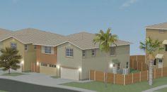 NC8 Duplexes Floor Plans, California, Mansions, House Styles, City, Home Decor, Decoration Home, Manor Houses, Room Decor