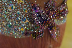 **pinned because this is what I have been spending my time doing lately** @Melissa Brown Scholl Stoning detail on a dance costume
