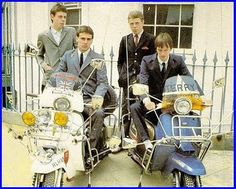 I love this picture of a youthful Mick Talbot in his brother Danny's group The Merton Parkas. I think they only did one album that had a really good version of Steppin' Stone but Mick would find fame with Paul Weller in the Style Council