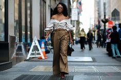 New York Fashion Week Spring 2018 Best Street Style