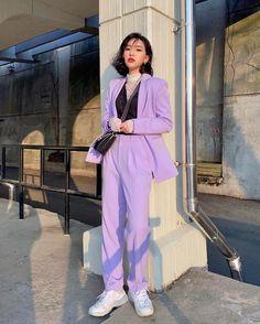 Asian Street Style, Korean Street Fashion, Asian Fashion, Look Fashion, Girl Fashion, Fashion Outfits, Fashion Design, Trendy Outfits, Cool Outfits